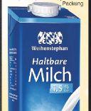 Haltbare Milch von Weihenstephan