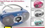 Portable Boombox von Dual