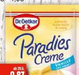 Paradiescreme von Dr. Oetker