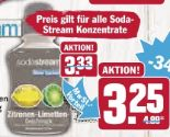 Konzentrate von Sodastream