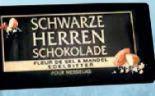 Schwarze Herren Schokolade von Sarotti