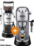 Espresso-Siebträgerautomat EC685 Barista Bundle + Kaffeemühle von DeLonghi