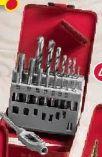 Bohrer- und Gewindebohrer Satz 15tlg von Kraft Werkzeuge
