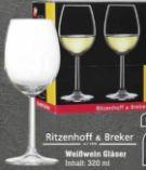 Weißweingläser von Ritzenhoff & Breker