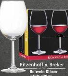 Rotweingläser von Ritzenhoff & Breker