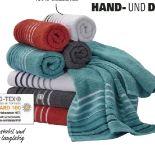 Hand- und Duschtücher von Schiesser