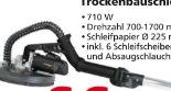 Trockenbauschleifer DWS9 von Scheppach