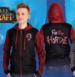 Herren Kapuzenjacke Horde Pride World of Warcraft von Elbenwald