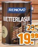 Wetterlasur von Renovo