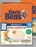 Reisgerichte von Uncle Ben's