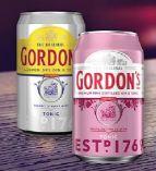 Premium Pink Distilled Gin & Tonic von Gordon's