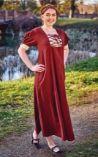 Damen Mittelalter Sommer Kleid Lysa von Elbenwald