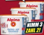 Wand- und Deckenfarbe von Alpina
