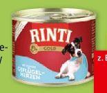 Gold Hundenassnahrung von Rinti
