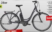 Bequemes City E-Bike von Winora