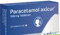 Paracetamol axicur von axicorp Pharma