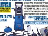 Hochdruckreiniger HCE2200 von Scheppach