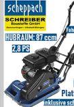 Benzin-Rüttelplatte HP800S von Scheppach