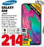 Smartphone A405F Galaxy A40 von Samsung