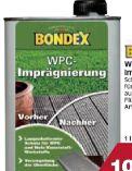 WPC-Imprägnierung von Bondex