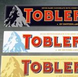 Schokolade von Toblerone