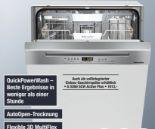 Einbau-Geschirrspüler G 5210 SCi Active Plus Edelstahl von Miele