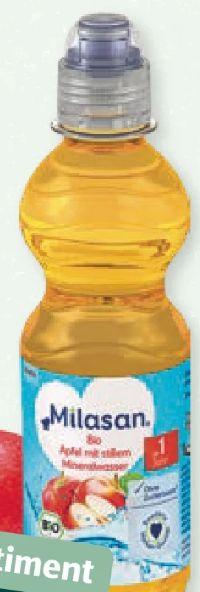 Bio Apfel mit stillem Mineralwasser von Milasan