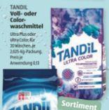 Vollwaschmittel von Tandil