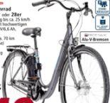 Alu-Elektro-Fahrrad Green 2.5 von Zündapp
