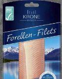 Forellen-Filets von Krone Fisch