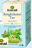 Bio Bergkräuter Tee von Alnatura