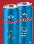 Gin Tonic von Henderson