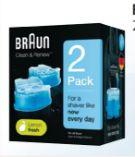 Series Reinigungskartuschen Clean & Renew von Braun