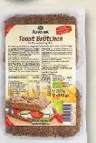 Bio-Toast Brötchen von Alnatura