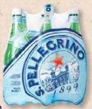 Wasser von San Pellegrino