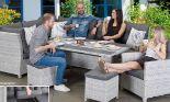 Dining Lounge Möbelset Santorin von Primaster
