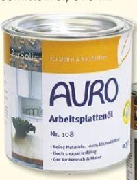 Arbeitsplattenöl von Auro Farben