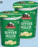 Frische Buttermilch von Berchtesgadener Land