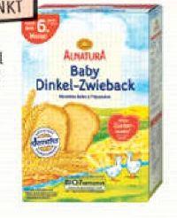 Baby Bio Dinkel-Zwieback von Alnatura