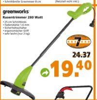 Rasentrimmer von Greenworks