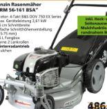 Benzin-Rasenmäher BRM 56-161 BSA von Grizzly