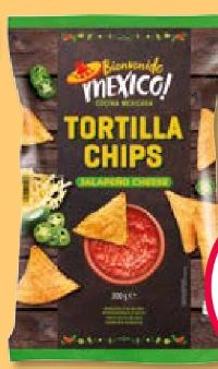 Tortilla Chips von Bienvenido Mexiko