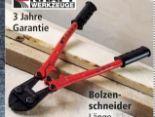 Bolzenschneider von Kraft Werkzeuge