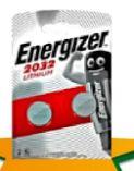 Knopfzellen von Energizer