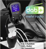 FM DAB+-Transmitter FMT1500BT von Technaxx