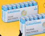 Alkaline Batterien von Grundig