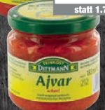 Ajvar von Feinkost Dittmann