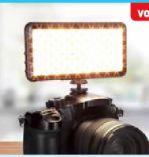 LED-Videoleuchte Lumen Pocket Bi-Color von Rollei