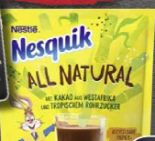 Nesquik All Natural von Nestlé