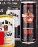 Alkoholisches Mischgetränk von Jim Beam